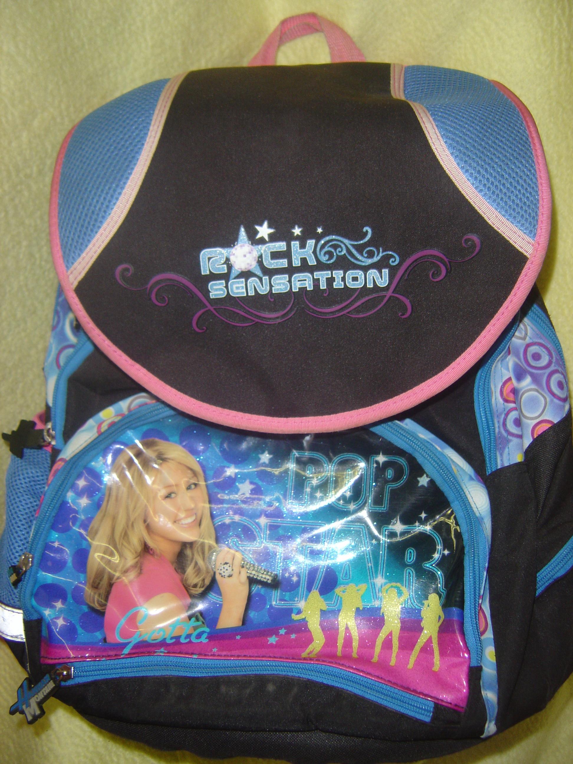 Školní ergonomický batoh Hannah Montana  cc0e075414
